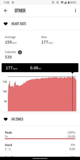 fitbit versa 2 review heart rate screenshot vs wahoo tickr x