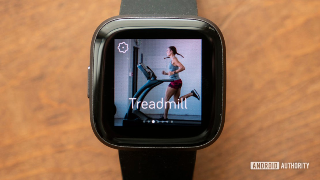 fitbit versa 2 review treadmill workout