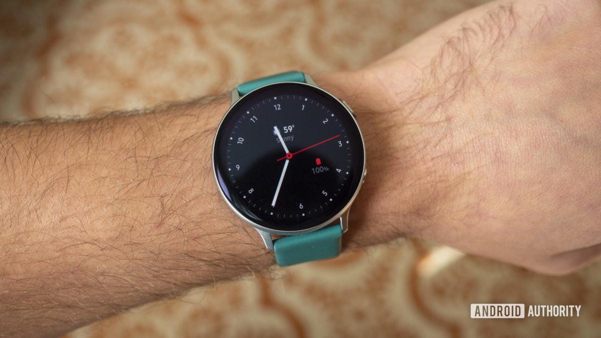 samsung galaxy watch active 2 wrist watch face review1