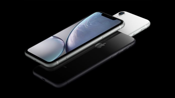 Apple iPhone XR official render