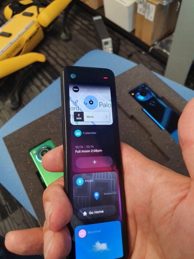 Nueva interfaz de usuario de la tarjeta Essential Phone