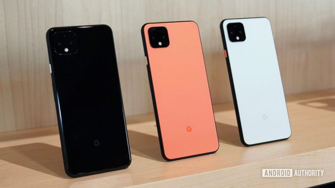Google Pixel 4 color options