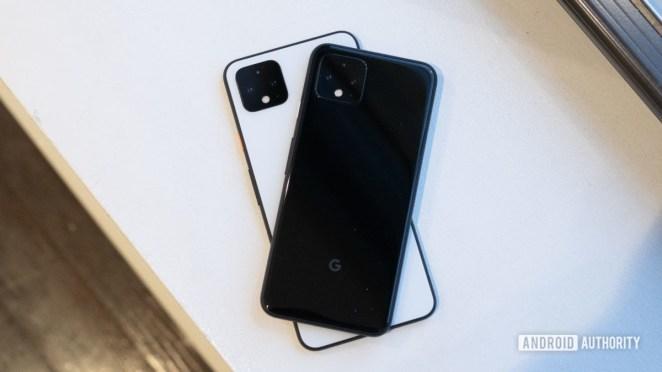 Google Pixel 4 vs Google Pixel 4 XL design