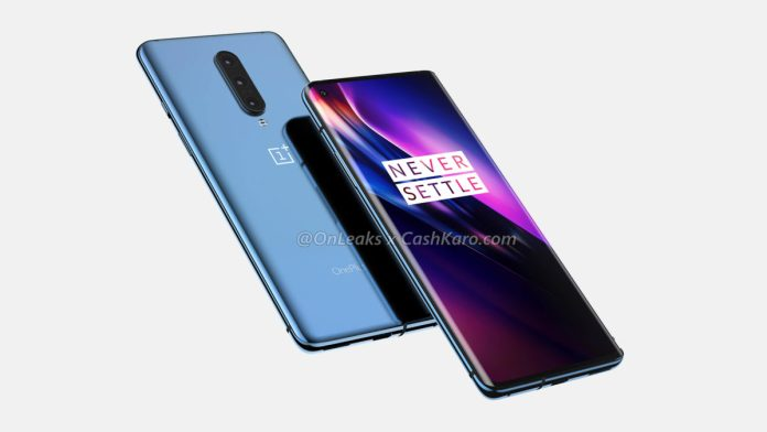 OnePlus 8 Leaked Render Side View