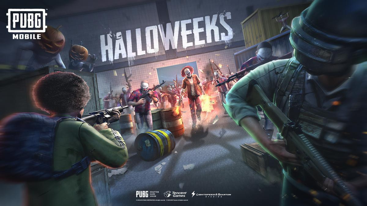 PUBG Halloweeks update