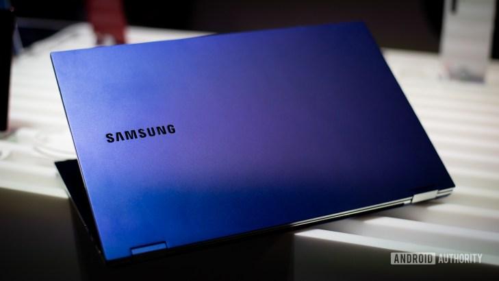 Samsung Galaxy Book Flex back 17
