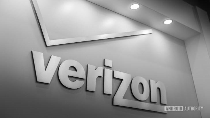 Verizon Wireless logo stock image 6