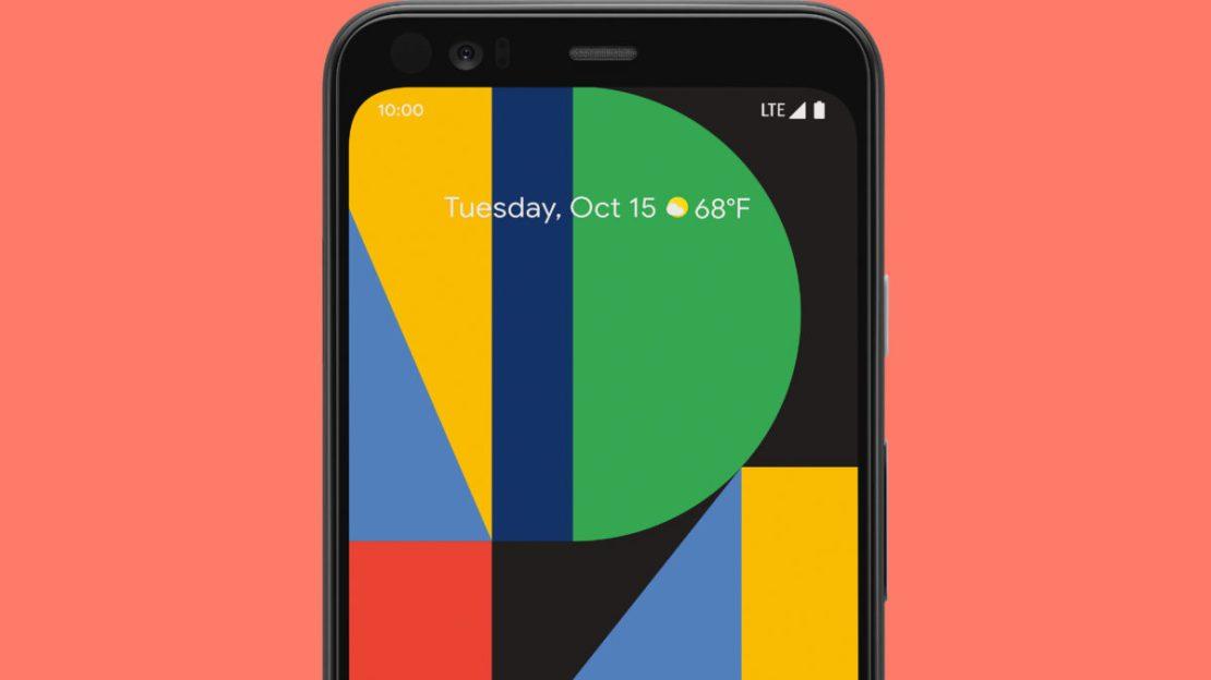 google pixel 4 display front sensors header