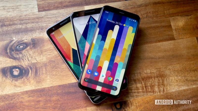 google pixel 4 versus pixel 3 versus pixel 3a 2