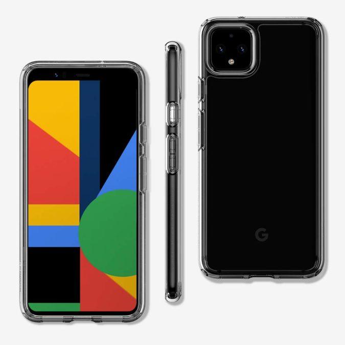 spigen ultra hybrid pixel 4 xl case