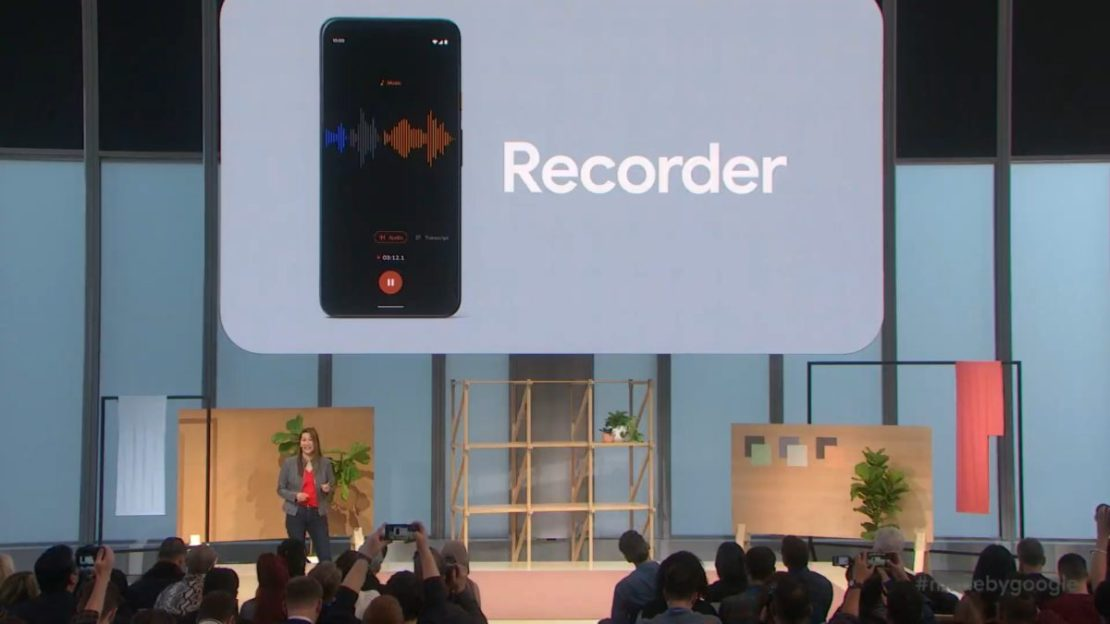 recorder Made by Google 19