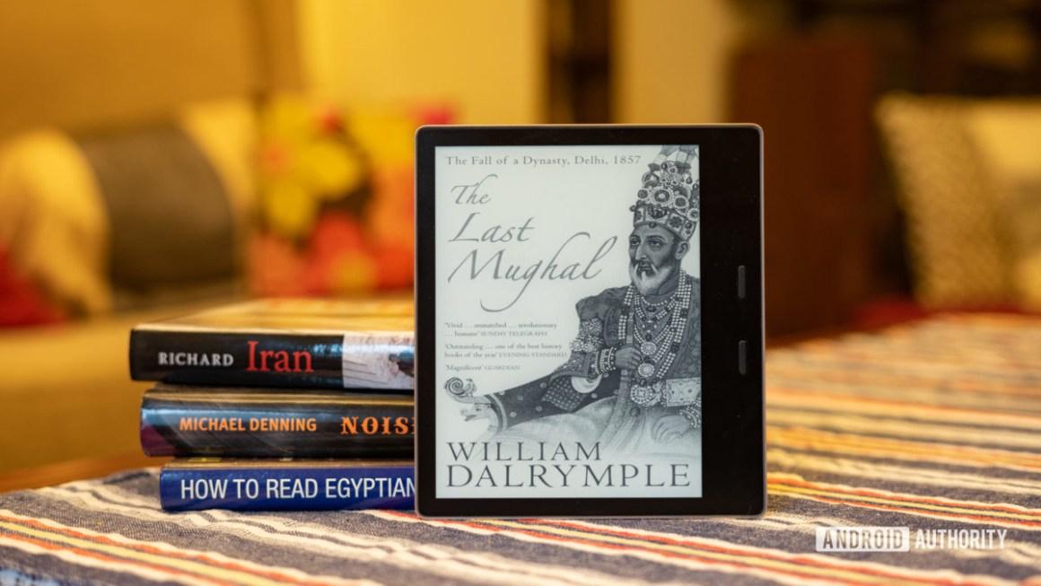 Снимок профиля Amazon Kindle Oasis