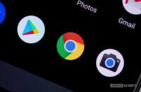Chrome icon on smartphone 2