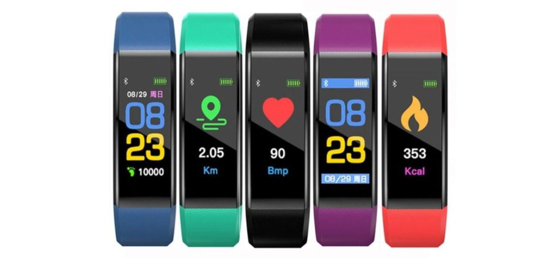 Fitness Tracker Watch V21