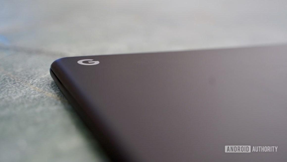 Логотип Google Pixelbook Go Review G