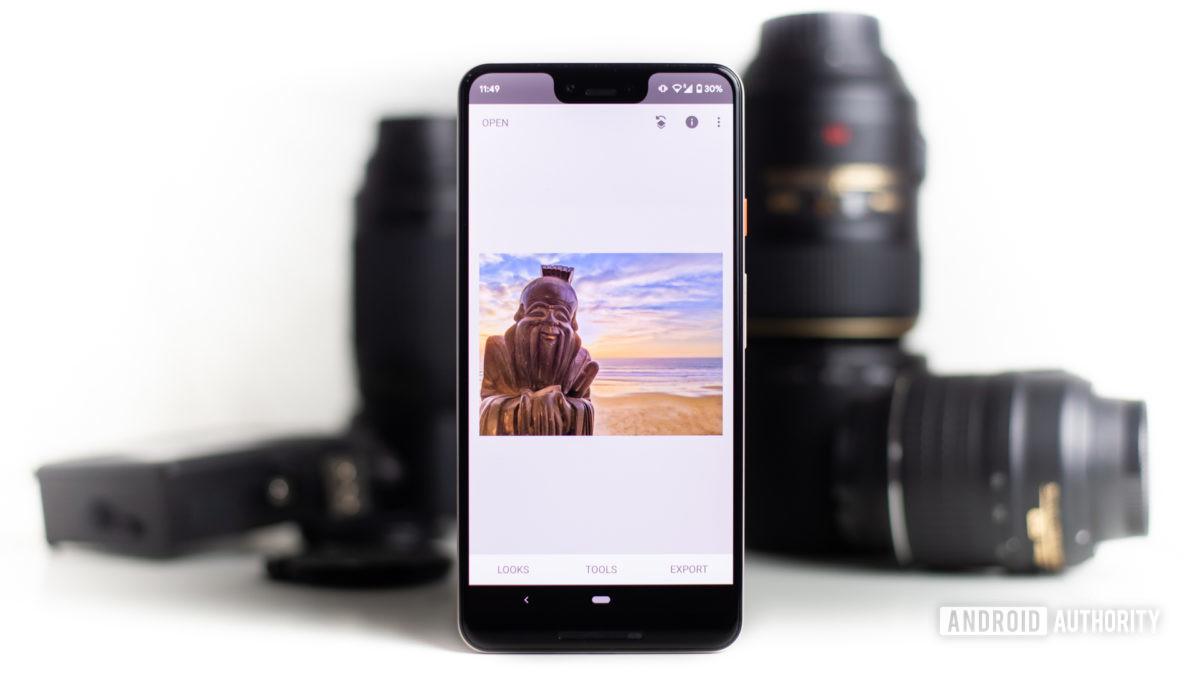Приложение для редактирования фотографий Snapseed