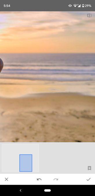 Снимки экрана Snapseed Healing 3