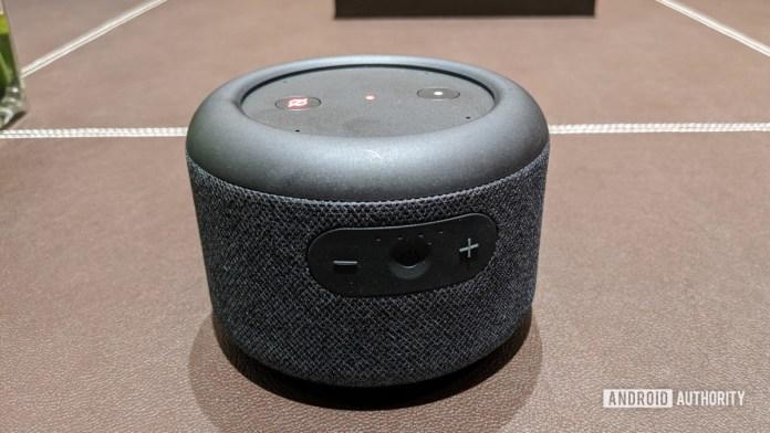 Amazon Echo Input Portátil frontal