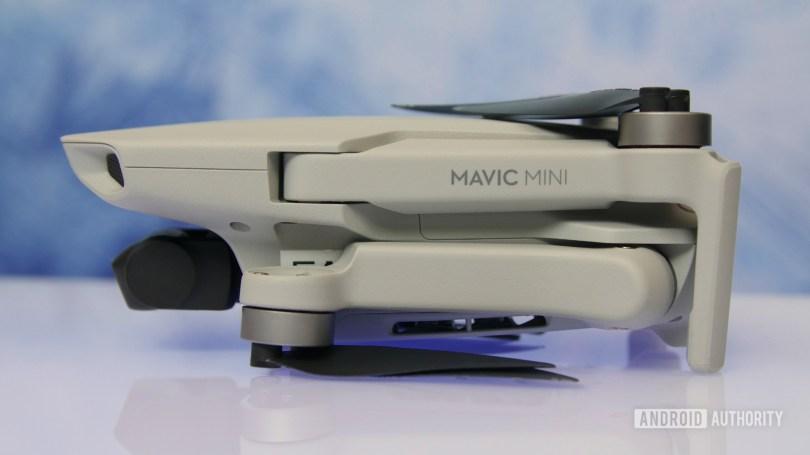 DJI Mavic Mini review folded side aa