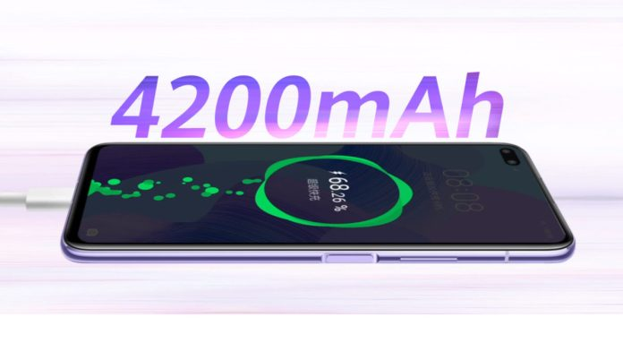 Huawei Nova 6 5G cargando