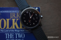 Moto 360 2019 review on book watch face 12