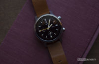 Moto 360 2019 review on book watch face 13