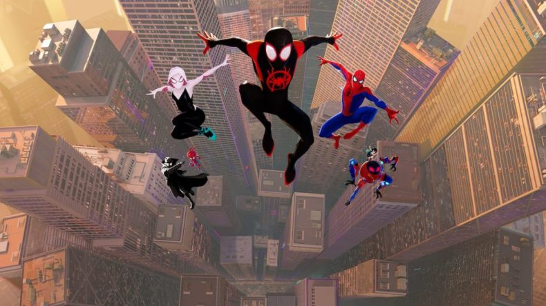 Spider Man Into the Spider verse cover image