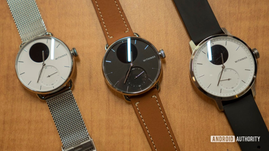 withings scanwatch family 2