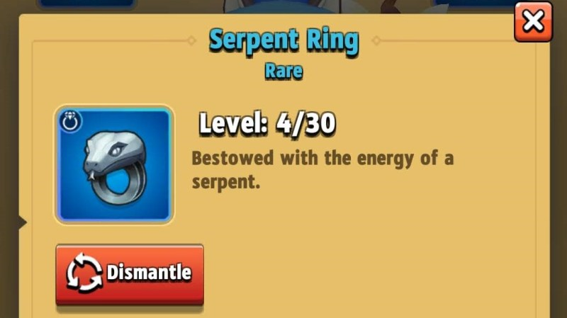 Archero best ring