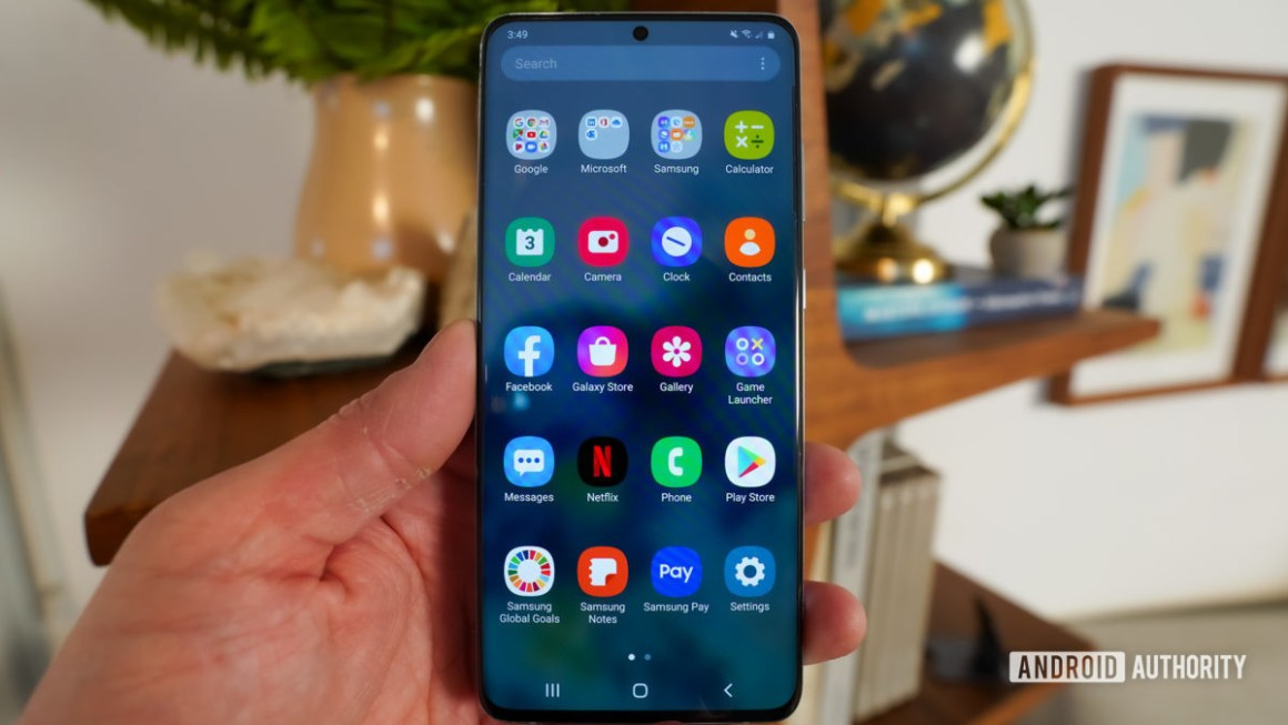 Samsung Galaxy S20 Android 10 One UI 2