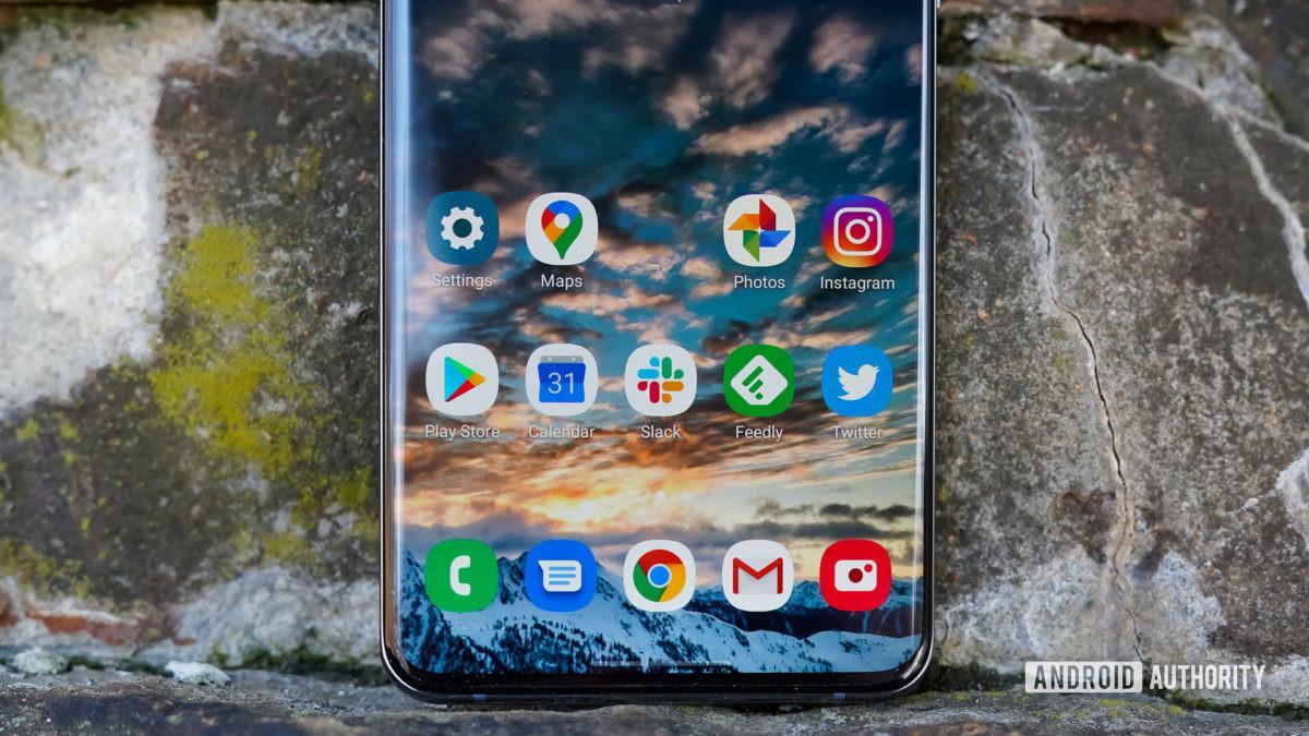 Ящик для приложений Samsung Galaxy S20 Ultra