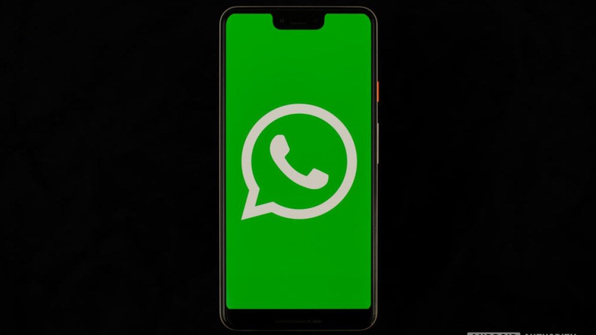 WhatsApp by Facebook stock photo 1