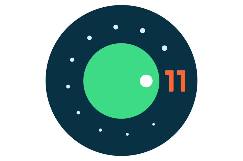 Android 11 логотип