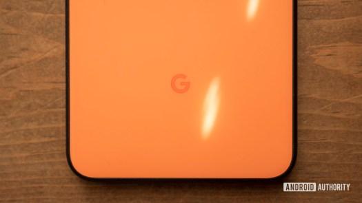 google pixel 4 xl oh so orange google logo 1