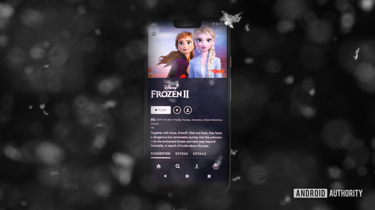 Холодное сердце 2 в приложении Disney Plus 1