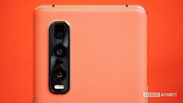 Oppo Find X2 Pro kamera modülü makrosu