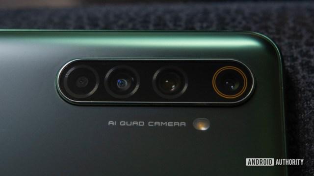 Realme X50 Pro 5G Camera module up close