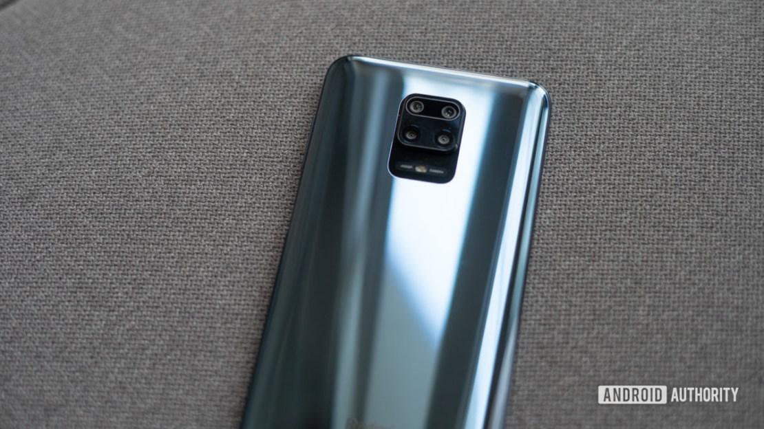 Redmi Note 9 Pro camera module