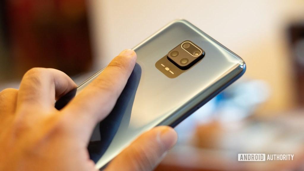 Redmi Note 9 Pro с камерой