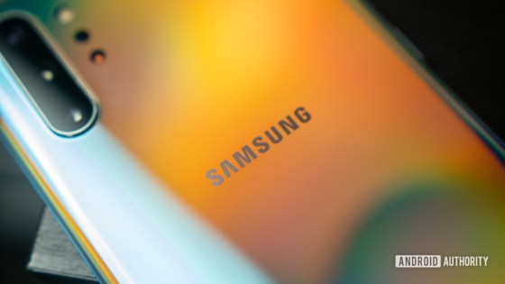 Samsung logo Samsung Galaxy Note 10