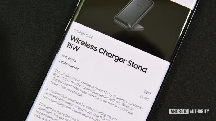 Samsung Pay redeem points 2