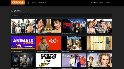 crackle new 3 streaming apps and services