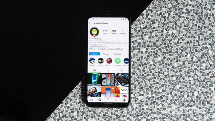 Android Authority Instagram melhores aplicativos de mídia social para Android