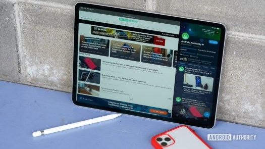 Apple iPad Pro 2020 with stylus and iphone