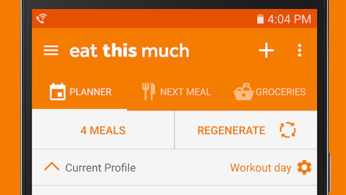 Ешьте это много лучших приложений планировщик еды для Android