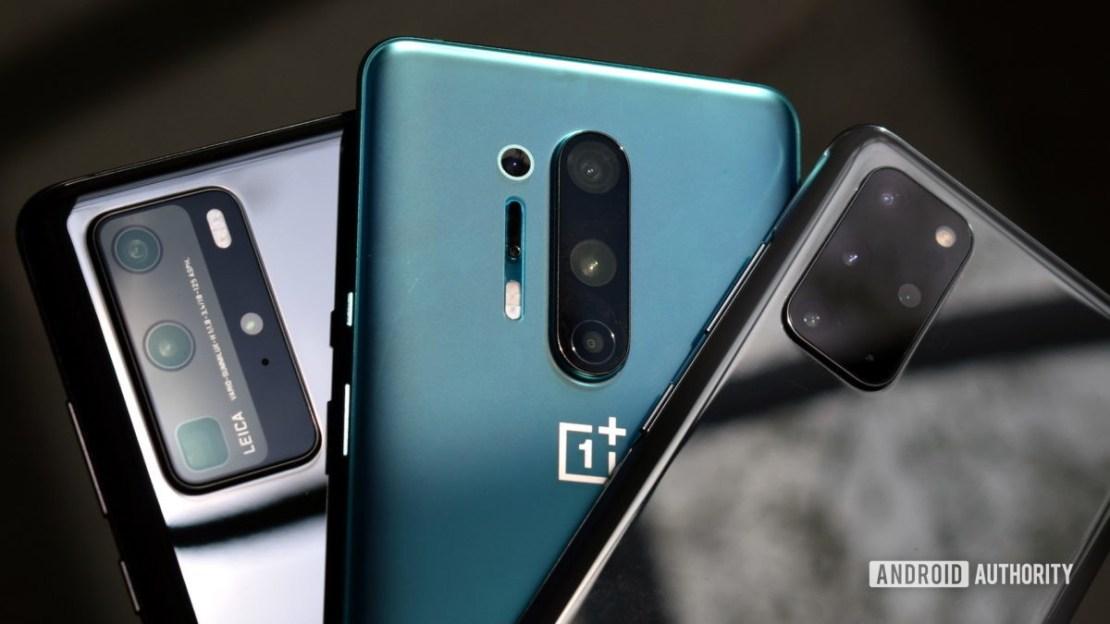 Huawei P40 Pro vs OnePlus 8 Pro vs Samsung Galaxy S20 Plus cameras 1
