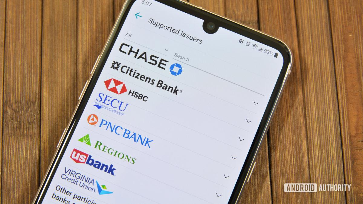 LG Pay поддержал банки 2020 года