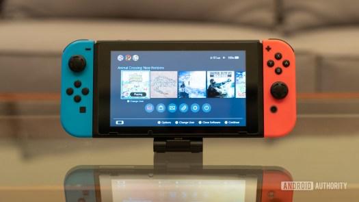Nintendo Switch front shot