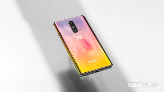 OnePlus 8 back pretty colors
