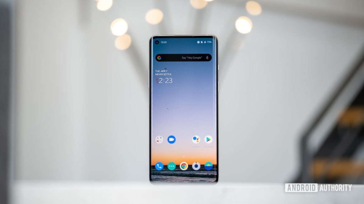 OnePlus 8 screen 1